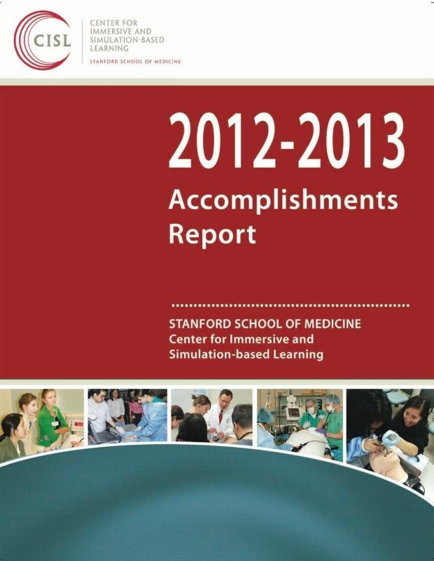CISL 2012-2013 Accomplishments Report cover