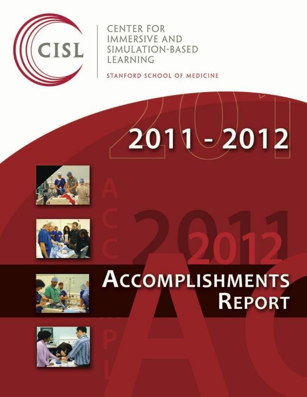 CISL 2011-2012 Accomplishments Report cover