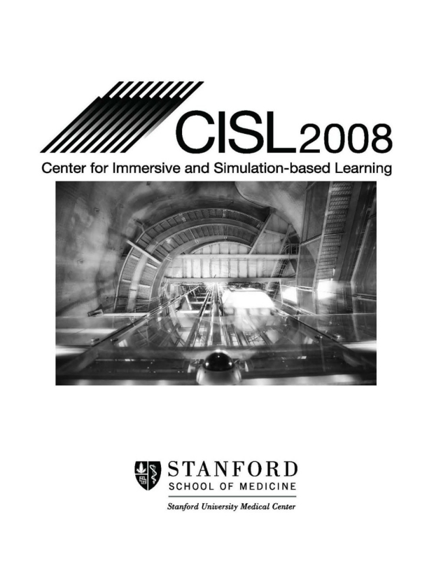 CISL 2007-2008 Accomplishments Report cover